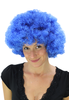 Afro Perücke Blau Hair Disco PW0011-PC3