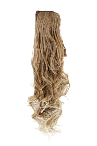 Zopf, Blond-Mix, wellig, 63 cm, YZF-1094HT-27T613