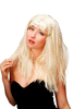 Party/Fancy Dress/Halloween WIG lady kinked voluminous blond hair long wild & sexy Beach Bunny