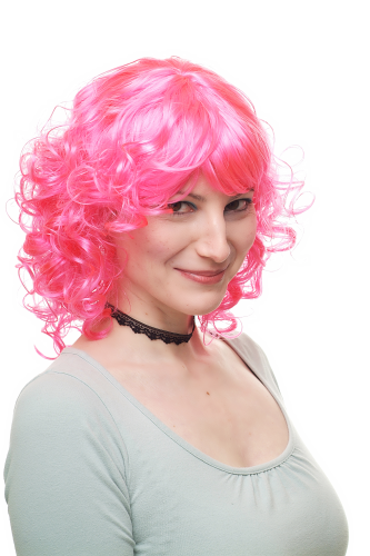 Party/Fancy Dress/Halloween Lady WIG bubblegum pink princess 68048-PC5 COSPLAY Anime Gothic Lolita
