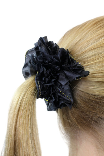 Hair Extensions Scrunchy black Z004