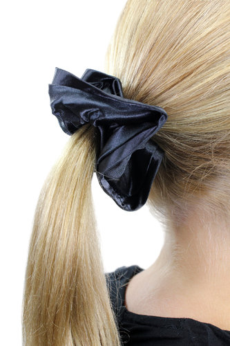 Hair Extensions Scrunchy black Z017