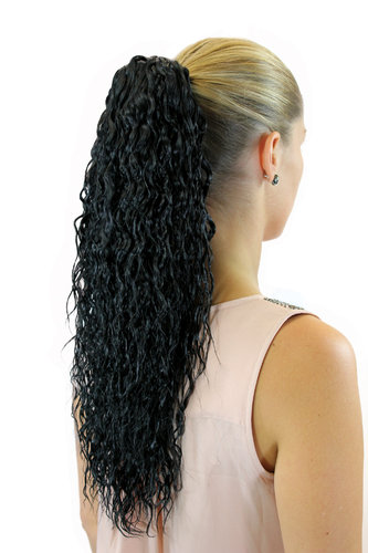 Hair Extensions black JL-602-1B