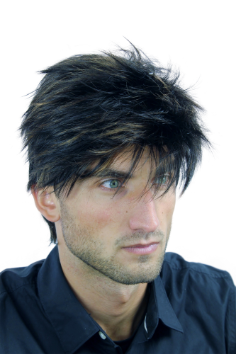 Wig Me Up Wl 3030a 2f27 Men Gents Quality Wig Short Youthful