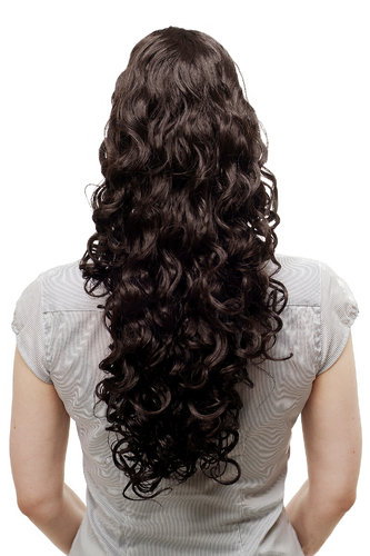 Hair Extensions brown N310-4