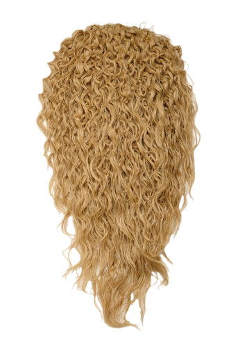 Haarteil Halbperücke 7 Clips Locken Blond-Mix H9311-611B