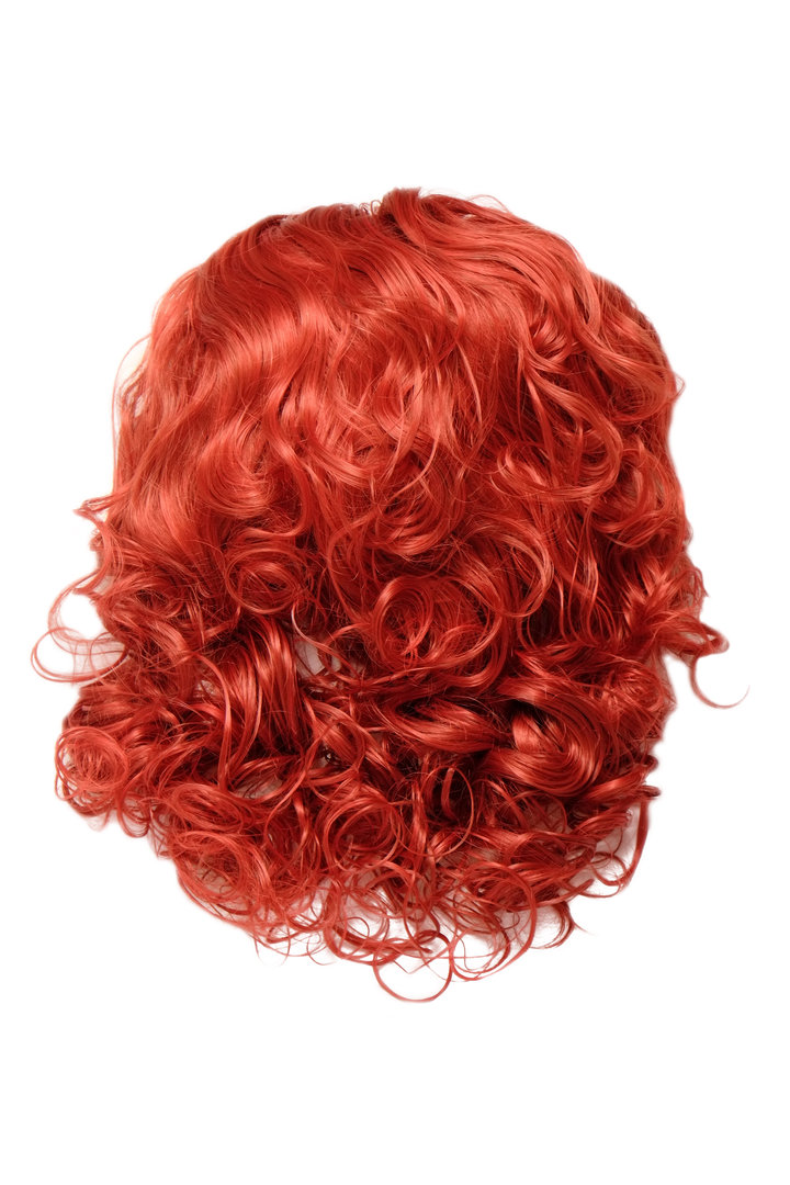 Hairpiece Halfwig 7 Microclip Clip In Extension Curly Curls Long