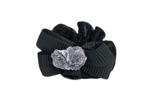 Hair Extensions Scrunchy black Z028