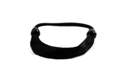 Hair Extensions Scrunchy black NHA-003B-1