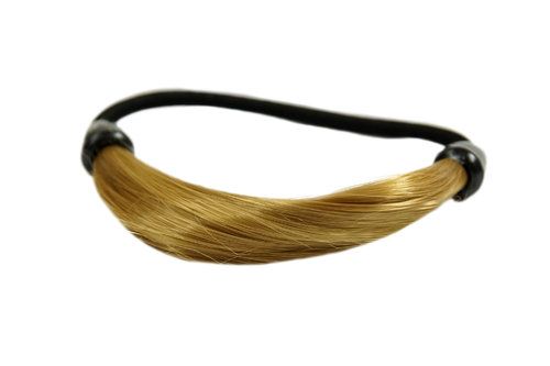 Hair Extensions scrunchy blond NHA-003B-25