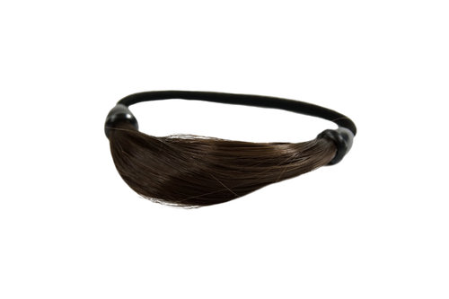 Hair Extensions Scrunchy brown NHA-003B-10