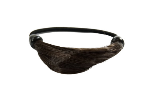 Hair Extensions Scrunchy brown NHA-003B-6
