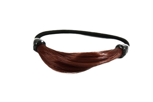 Hair Extensions Scrunchy red NHA-003B-350