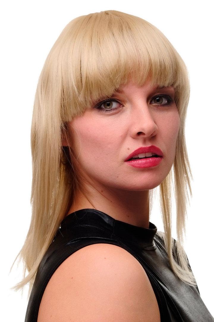 Gfw2203 24 Lady Quality Wig Bob Longbob Shoulder Length Fringe Bangs