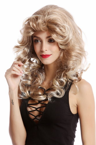 Perücke Diva 80er Wellig Blond Mix WL-3010-27T613