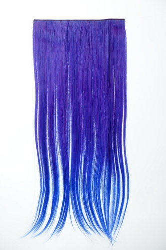5 Clips Clip-In Extension Ombre Blau YZF-3179P-T2420TTF2517