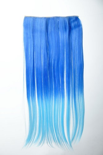 5 Clips Clip-In Extension Ombre Blau YZF-3179P-TF2517TTF2513B