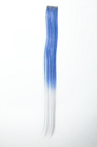 1 Clip-In Extension Ombre Blau, Weiß YZF-P1S18P-T2512/1001
