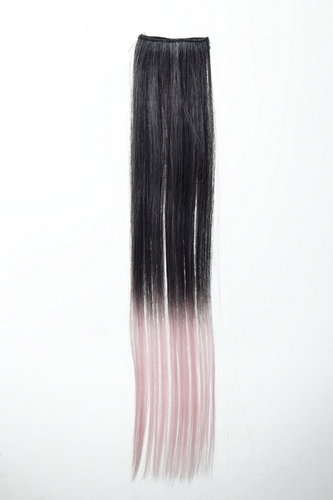 2 Clip-In Extension Ombre Schwarz, Rosa YZF-P2S18P-1BT2333
