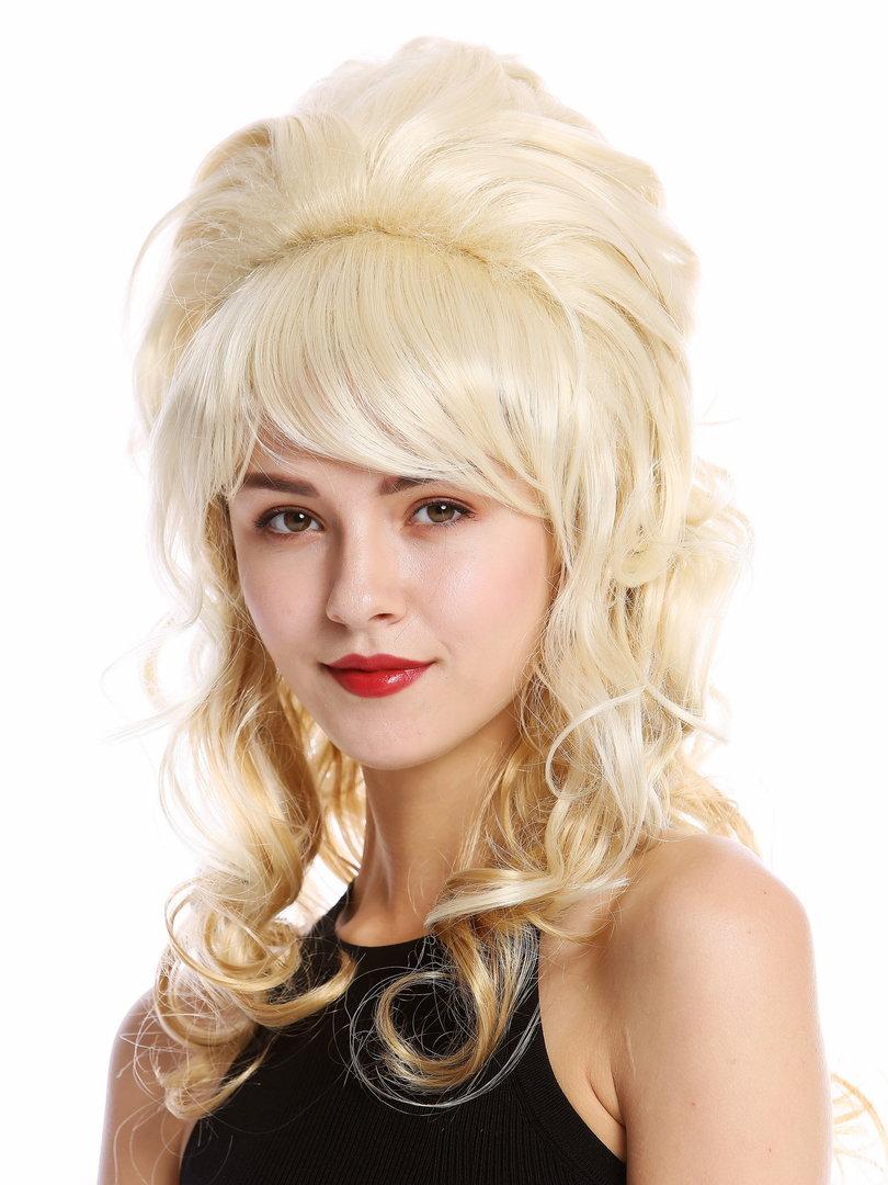 Perucke 60er Hochsteckfrisur Blond Gfw2418 Lg26 613