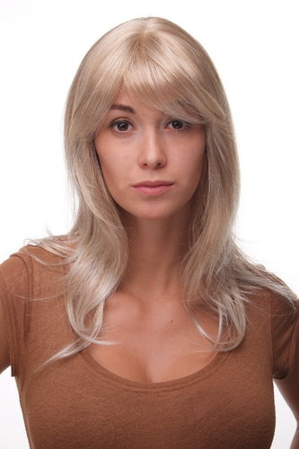 Lady QUALITY Wig SCANDINAVIAN BLOND MIX long wavy (4038 Colour 27T613) blonde