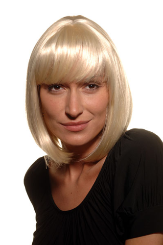 BOB lady QUALITY wig DOM & SEXY PAGE PLATINUM BLOND (7803 Colour 613)