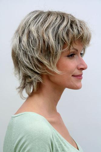 Perucke Grau Kurze Haare Reife Dame 26062 4t220h12