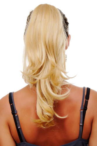 Hairpiece PONYTAIL medium length straight BLONDE blond (T400 Colour 611B)