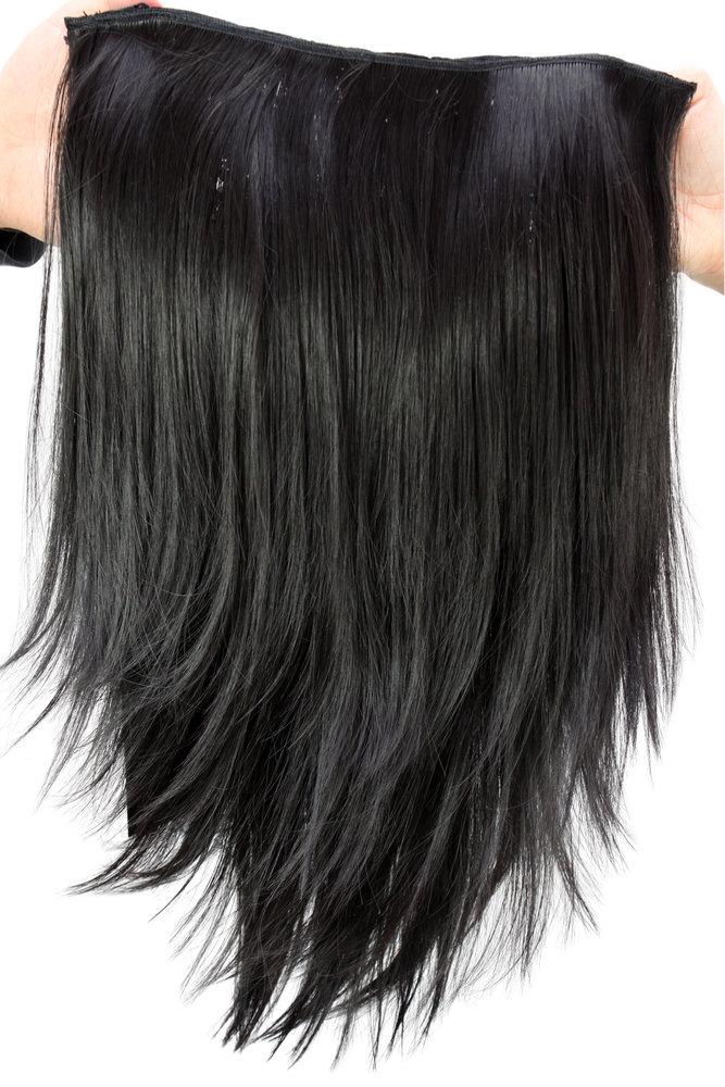 Wig Me Up Hairpiece Halfwig Half Wig 7 Microclip Clip In