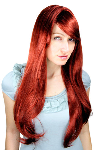 Lady Wig Fashion Wig RED straight very long 70 cm 3111-35 Peluca Pruik
