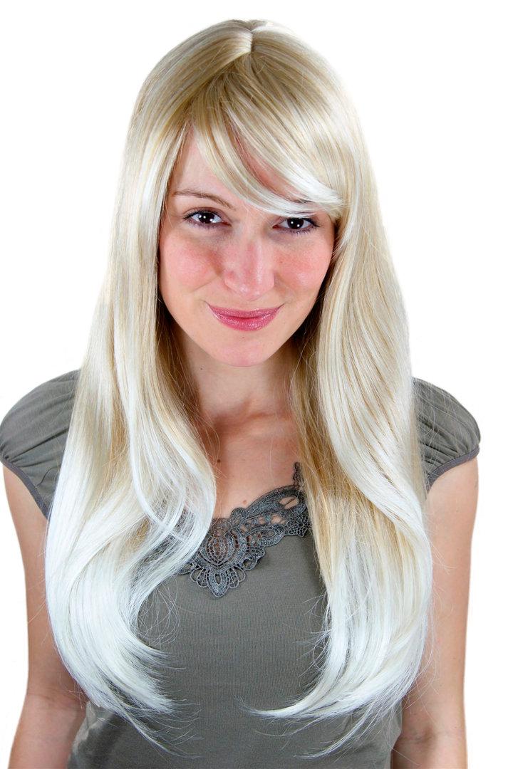 Blonde Perücke glatte Haare 3115-24BT613