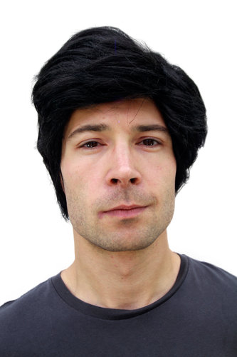 Party/Fancy Dress/Halloween WIG Men BLACK short PW0174-P1TP88