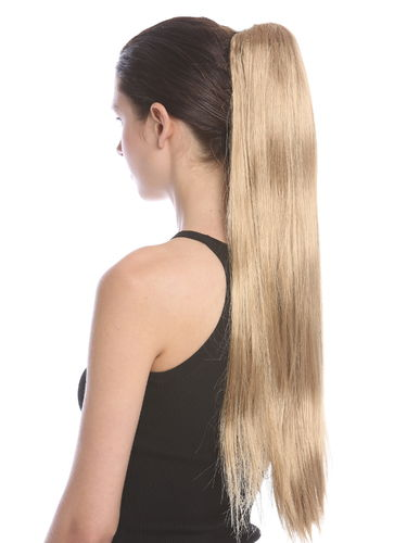 JL-3079-22T Ponytail Hairpiece extension very long straight medium blond 27""