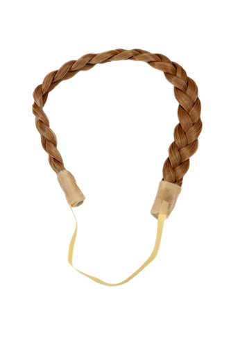 Hair Piece Hairband Circlet Alice band HIGH QUALITY synthetic fiber braided braid DARK BLOND