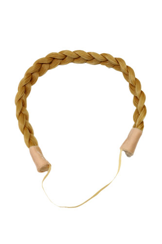 Hair Piece Hairband Circlet Alice band HIGH QUALITY synthetic fiber braided braid BLOND YZF-3080-86