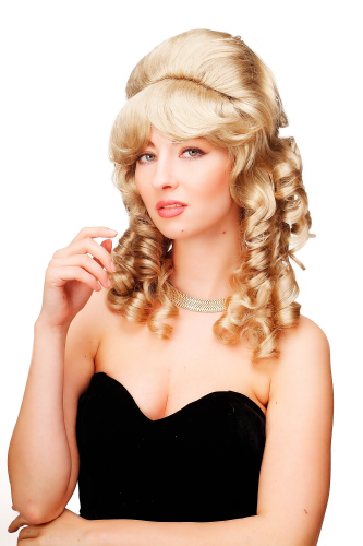 wig blond  F156-D-24