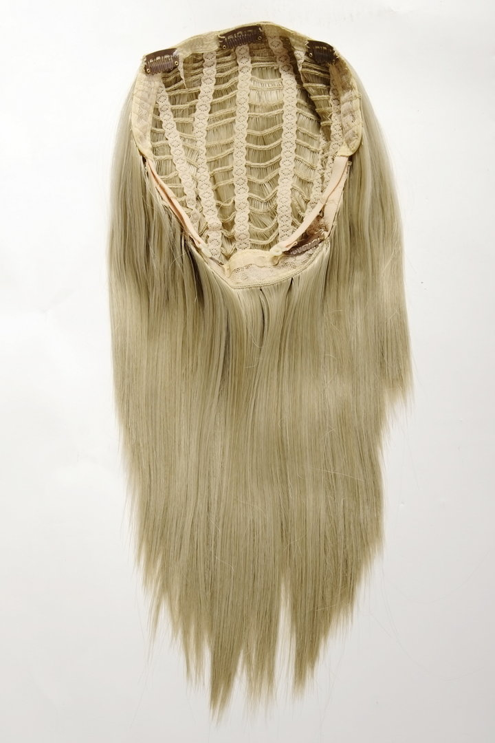 Hd1401 22 Hairpiece Half Wig Clip In Hair Extension 5 Micro Clips
