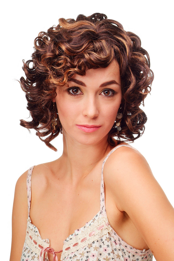 Schulterlange blonde locken