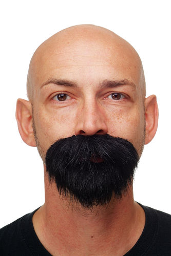 carnival Halloween fake beard full beard black bandit MM-65