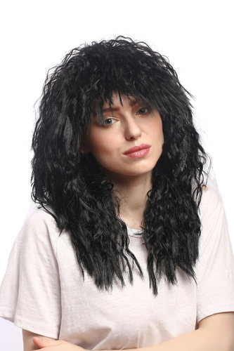 Man or Lady Party Wig Halloween Brazilian Soccer Player or Latin Beauty or Gypsy Dancer 20""
