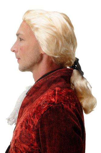 Wig Men/'s Carnival Baroque Renaissance Curly Blonde Mix Plait Lord Prince