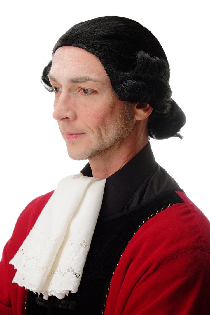 Wig Quality Wig Men/'s Theatre Baroque Lord Aristocrat Nobleman Blonde F2588