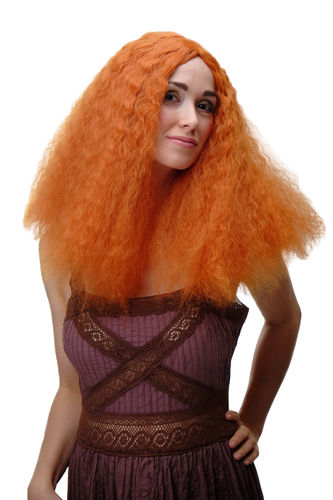 Damen Perücke Orange Locken YZF-7304-T2735