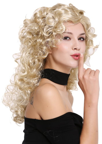 Wig Lady Women very voluminous Mane curls blond mix 0051-ZA89/ZA88