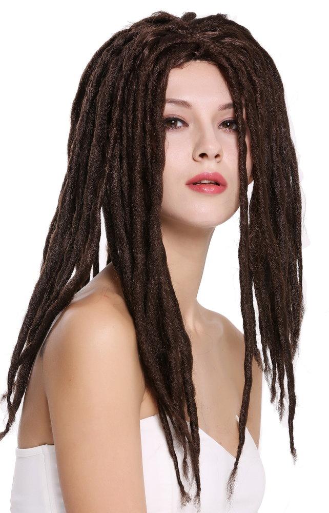 d6413a0a6f0 Man Lady Party Wig Dreadlocks Rasta Rastafari Brown 90674-ZA4
