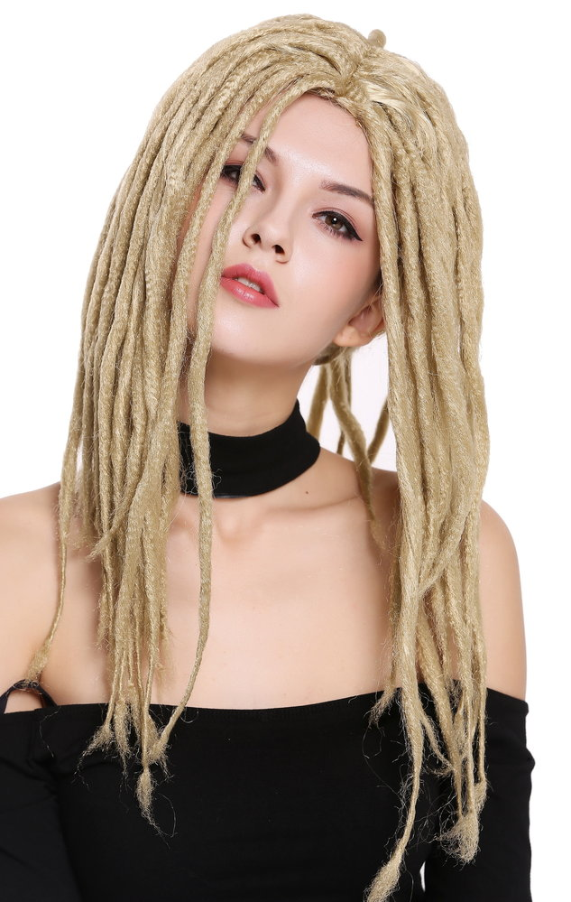 Perücke Dreadlocks Rasta Blond 90674-ZA89