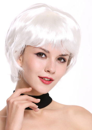 Lady Wig short wild full in white DH1390-ZA68