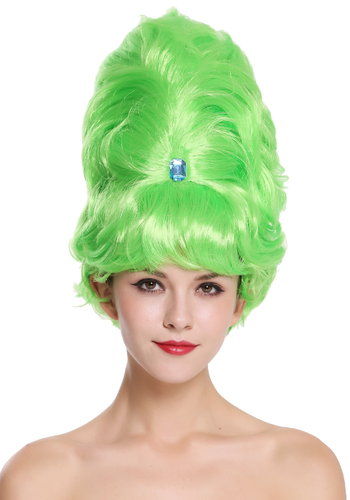 Lady Party Wig towering Beehive baroque 60s Hairdo light green MH-TH49-PC15