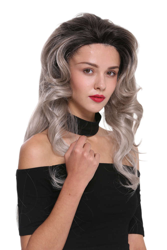 Quality Womens Wig Lady Lace Front Monofilament Long