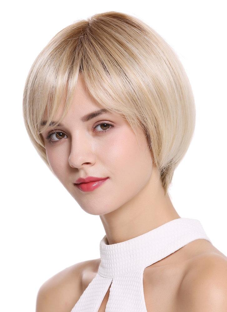 Wählen Sie für authentisch hell im Glanz wähle authentisch Perücke Monofilament Kurz Blond Mix DW2435A-MT-BLONDR